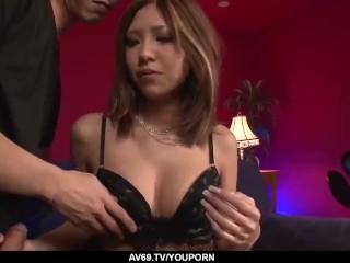Man with big dick fucks Miku Kohinata until exhaustion - More at 69avs.com