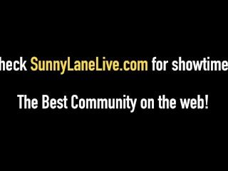 Blonde Babe Sunny Lane Gets Nasty With Her Pocket Rocket!