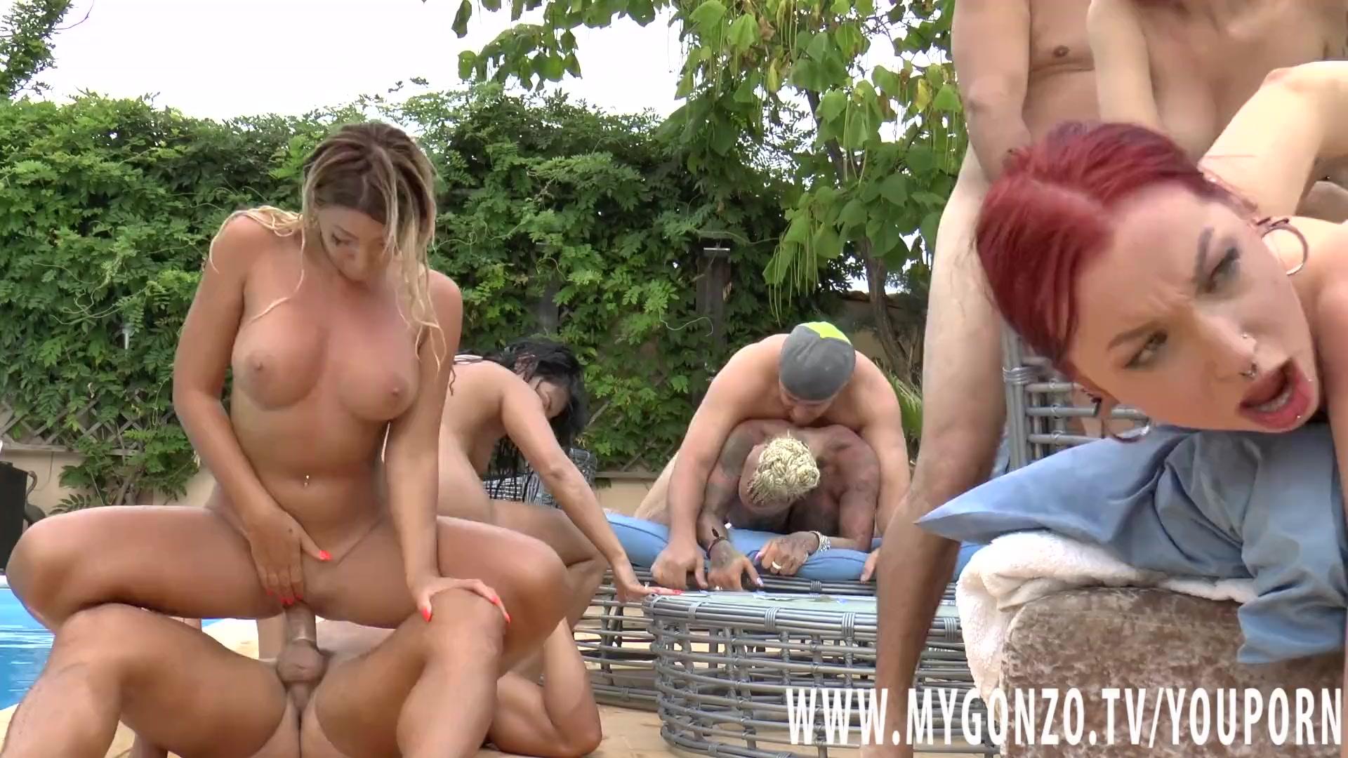 Orgy pool