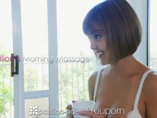 PASSION-HD Sensual pussy massage rub down FUCK with Dillion Harper