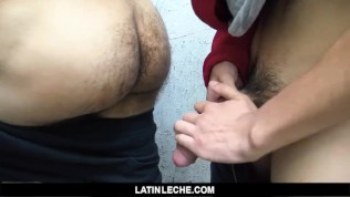LatinLeche - Latino Gets Seduced To Jerk Off