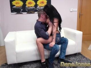 Dane Jones Big tits hottie Jolee Love deepthroat rimming and squirt