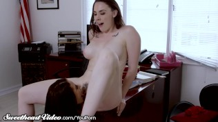 Lesbian College Prof. Lets Student Grind Her Wet Box- Sweetheart Video