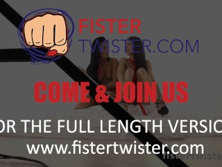 Fisting Rug munchers – Arwen Gold accumulates her snatch fist pounded after strap on fun