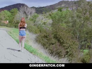 GingerPatch - Hot Ginger Teen Fucked By Big Cock Stranger