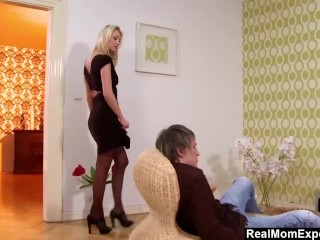 MILF Gets All The Attention She Wanted