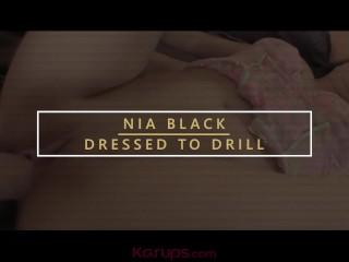 Karups - MILF Nia Black Gets Her Pussy Banged