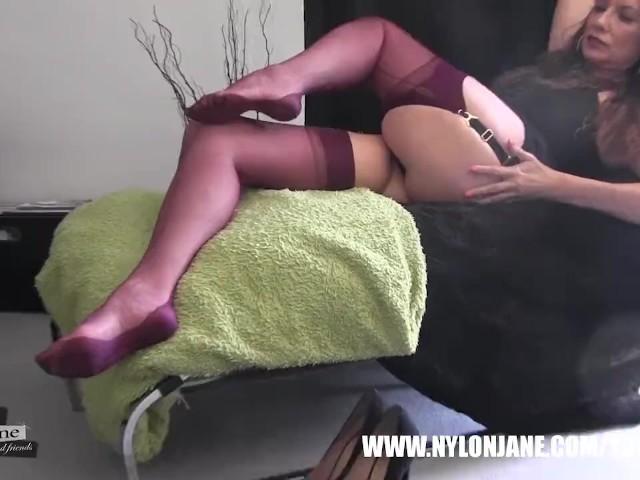 Hostess Candid Nylon Feet