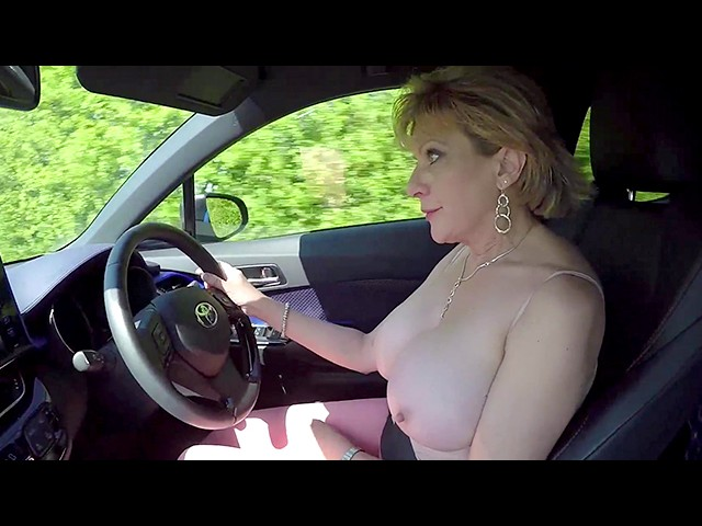 Female Orgasm While Driving