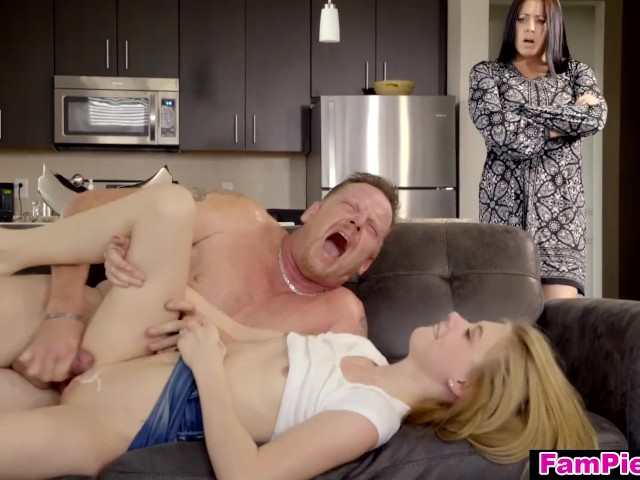 Step Father Creampies Daughter