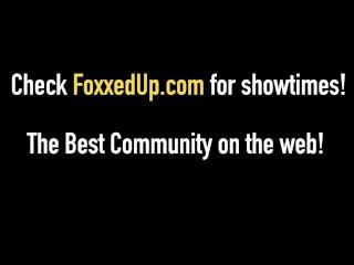 Black Beauty Jenna Foxx Makes Out With Lesbian Inna Sirina!