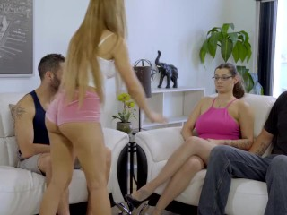 My Family Pies - StepBro Almost Caught Fucking His Teen StepSisters S2:E6