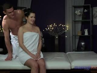 Massage Rooms Orgasmic fucking for plump bum babe