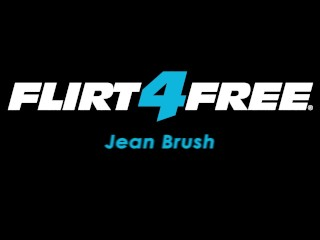 Flirt4Free Model Jean Brush - Tatted Latino Twink Plays with His Ass and Huge Uncut Cock