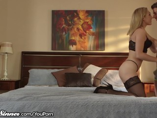 Blonde Girl Sucks Your Dick Slowly & Gets Rough Dick + Cumshot
