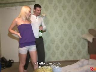 18videoz - Betsey Kite - Kerti - Two dicks for two chicks