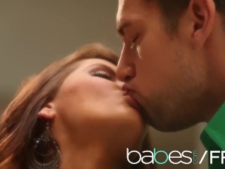 BABES - Madison Ivy gets fucked sensually on the kitchen table