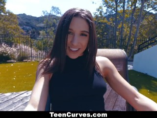 TeenCurves - Curvy Teen Rides Hard Cock