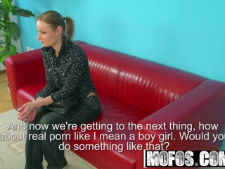 MOFOS - Petra gets put on the casting couch