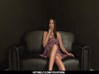 Mirei Yokoyama works magic with her very tight pussy - More at Japanesemamas.com