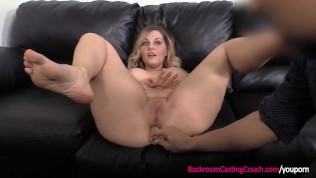 Big Tits MILF Anal on Casting Couch