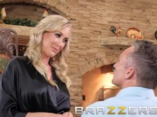 Brazzers - Blonde milf Brandi Love, trains her stepson well
