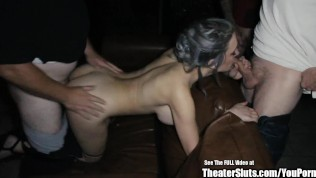 Harper Cox Ass Eating Gangbang Fuck Party