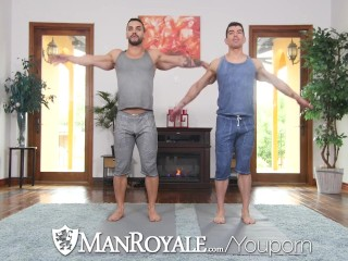 Hd/manroyale buddies fuck muscle for