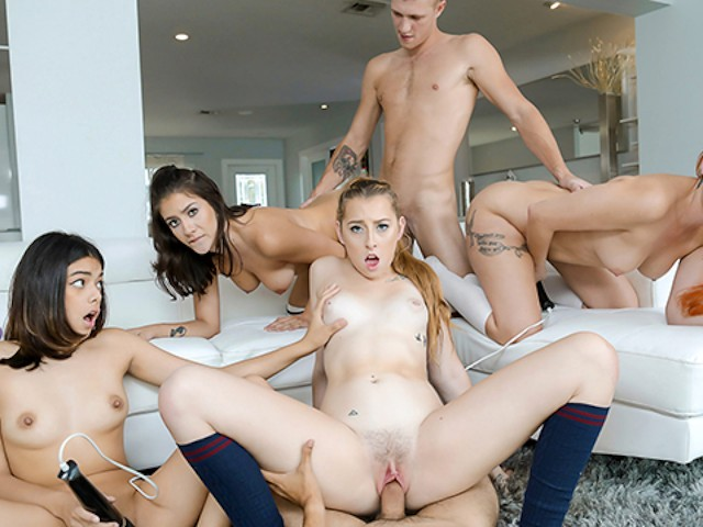 swingers orgy at home