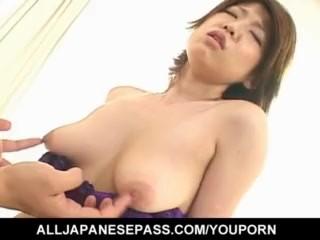 Reiko Yabuki moans and undulates during hot sex - More at hotajp.com