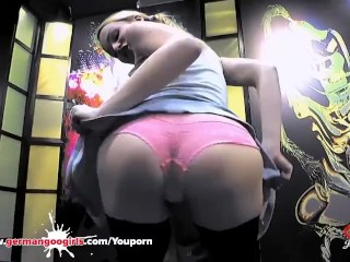 Rebecca's Black Ass Destroyed by Monster Cock - German Goo Girls