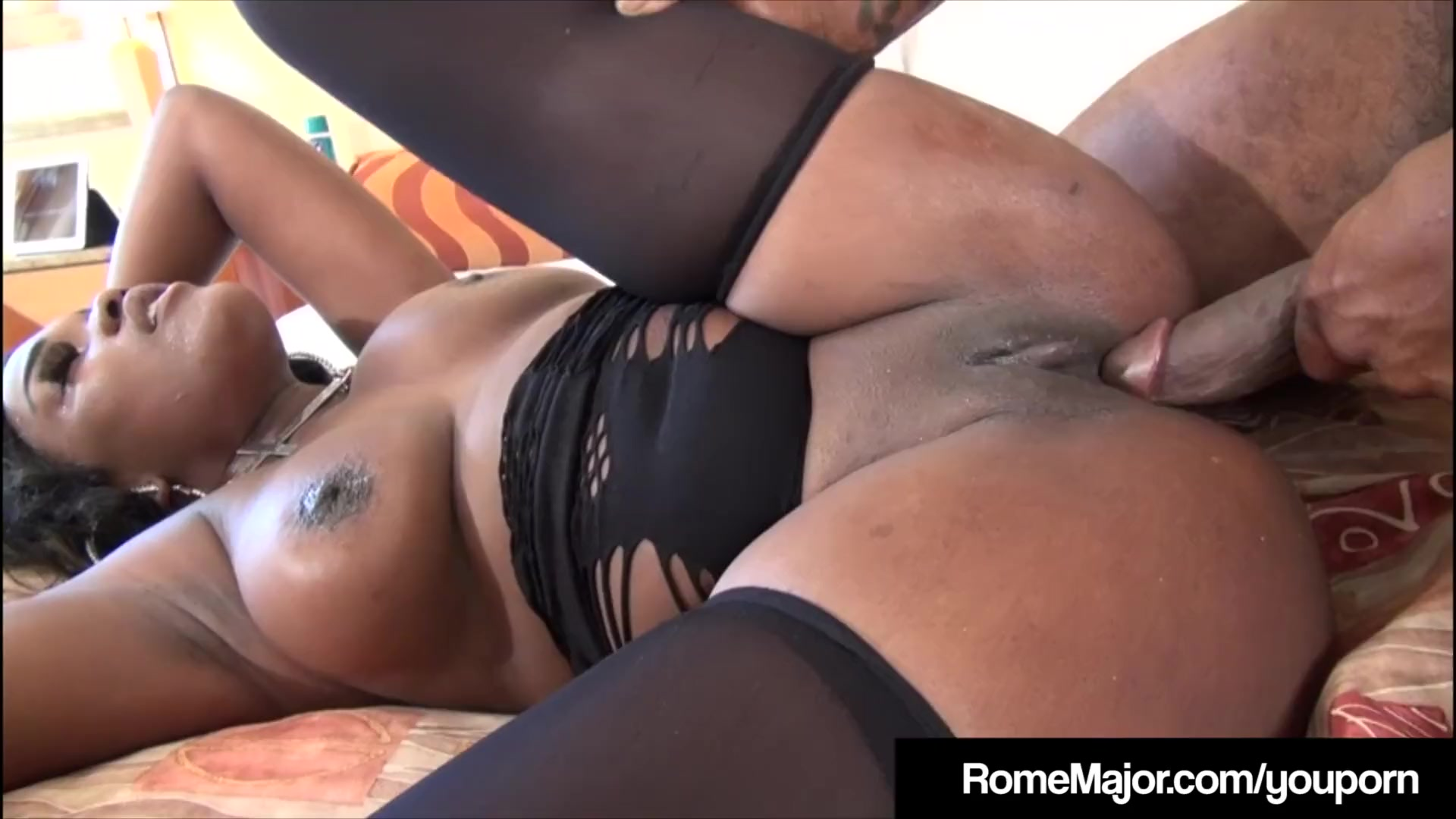 Ebony black porno