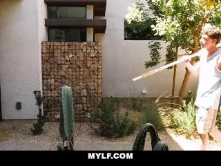 MYLF - Horny Wife Fucks Young Poolboy