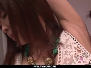 Maika in insane romance with a younger sex partner - More at 69avs.com