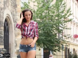 Kristy Black is an anal slut that loves double penetration