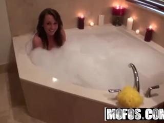 MOFOS  - Chloe Reese Carter sucks some cock in the bathtub