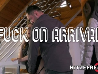 HITZEFREI Thick German brunette fucked and facialized