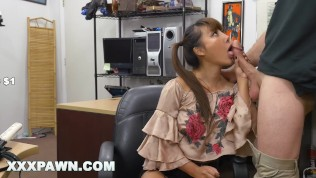 XXXPAWN – Desperate Chinese Woman Tiffany Rain Puts Up With BS For Money