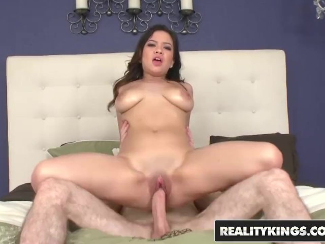 Reality Kings - Audrina Grace Shows Off Her Natural Bouncy Tits