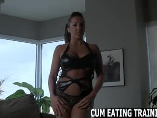 Cum Eating And CEI Femdom Porn