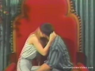 Vintage amateur couple homemade sex tape