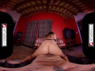 VRCosplayX.com Latina Villian Baby Nicols Becomes Horny Enchantress XXX
