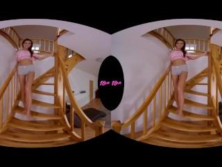 18VR.com Petite Teen Cindy Shine Speaks Universal Language Of Hard Sex