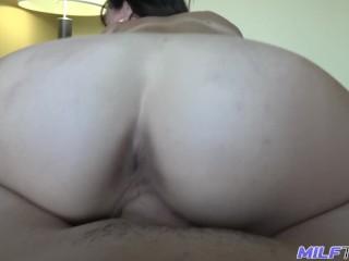 MILF Trip - MILF hottie Alana Cruise gets fat cock - Part 2