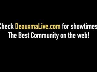 Texas Cougar Deauxma & Ashlee Chambers Fuck Big Black Cock!