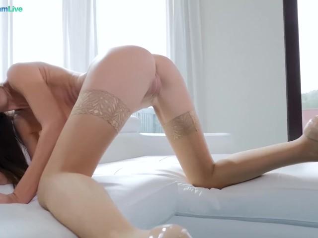 Spread Her Legs Wide Open