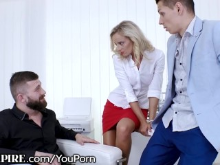BiEmpire Boss Asks Male Employee to Suck Dick or Go Home!