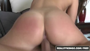 Reality Kings -Innocent brunette Bella Luciano fucks for her first time on camera