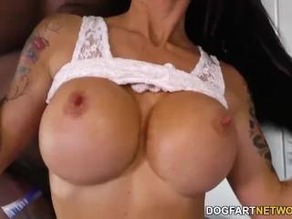 Busty Milf Melissa Lynn Loves Bbc