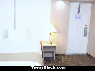 TeenyBlack - Ebony Babe Loves Sex And Money